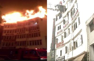 Delhi: Karol Bagh hotel fire doused, 17 dead, 45 rescued, several still trapped inside