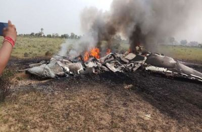MiG-27 aircraft on training mission crashes near Pokhran, pilot ejected safely
