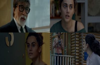 Badla trailer: Amitabh Bachchan and Taapsee Pannu are back with another gripping tale