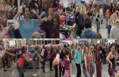 Watch Video: Bollywood fever grips California, flash mob dances to 'London Thumakda'