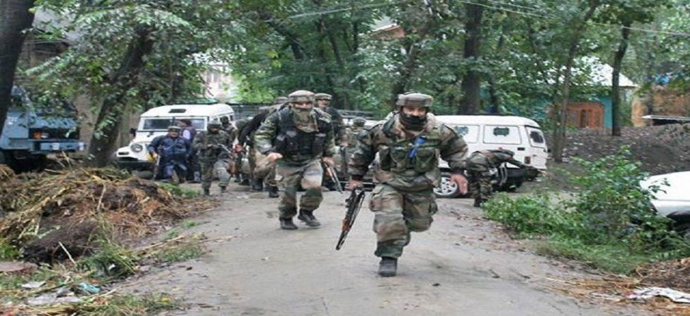 Exchange of fire occurred between security forces, terrorists at Gopalpora. (File photo)