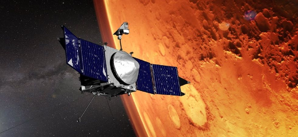 The MAVEN has completed its two-year mission but its fuel allows it to last through 2030 (Photo@AeroSpaceGuide)