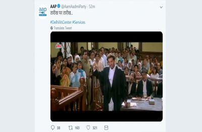 Taarikh pe taarikh, taarikh pe taarikh: AAP goes full filmy on Supreme Court's verdict