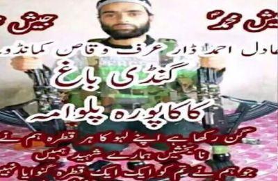Pulwama blast: Jaish-e-Mohammed terrorist Aadil Ahmad behind attack