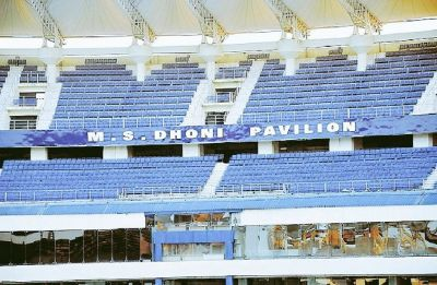South stand in Jharkhand Stadium to be named after MS Dhoni