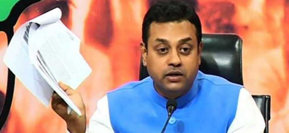 """Sambit Patra said that, """"we can't believe a democratically elected chief minister can use this type of language for Supreme Court. (File Photo"""