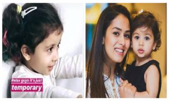 Mira Rajput trolled for colouring 2-year-old Misha's hair, replies 'It wasn't colour, it was regular paint'