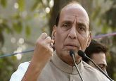 Civilian traffic to be restricted during movement of security forces convoys in JK: Rajnath Singh
