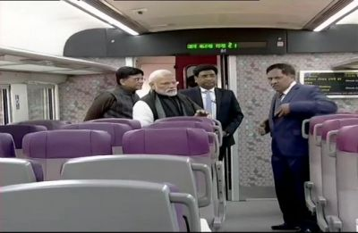 PM Modi flags off Vande Bharat Express, here's all you need to know