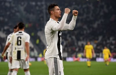 Cristiano Ronaldo brilliance gives Juventus 14-point lead in Serie A