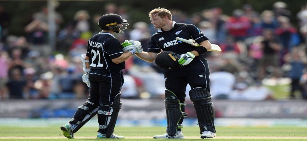 Martin Guptill slammed his 16th century as Bangladesh lost to New Zealand by eight wickets. (Image credit: ICC Twitter)