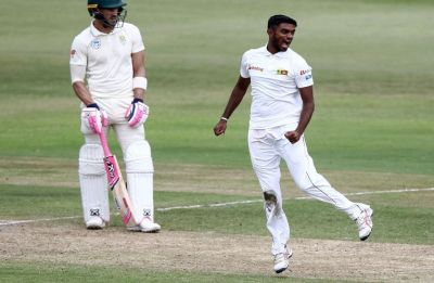 This Sri Lankan left-arm spinner fills Rangana Herath's void, creates history in South Africa Test