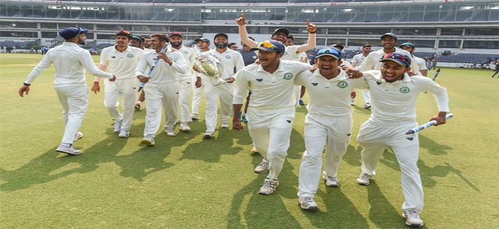 Ranji champions Vidarbha to donate prize money won in Irani Trophy to families of CRPF jawans killed in Pulwama terror attack. (Image credit: Twitter)
