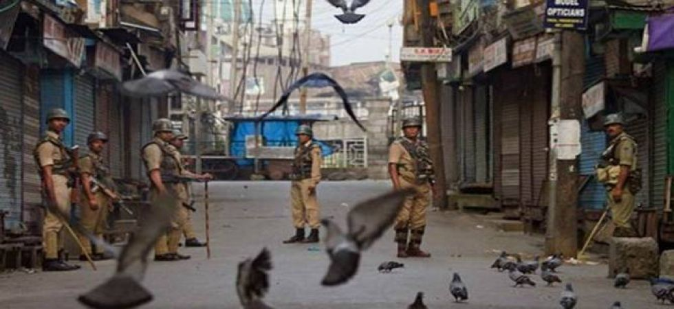 Shops, fuel stations and other business establishments were shut here in Srinagar