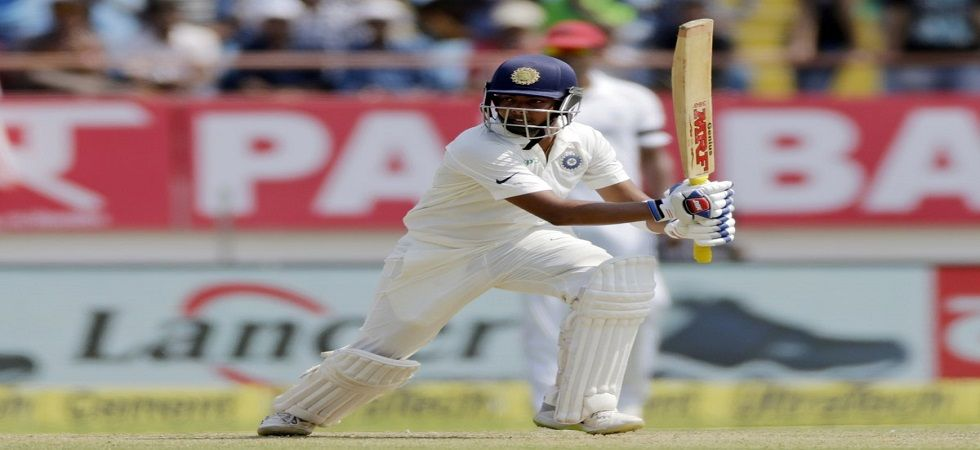 Prithvi Shaw struck a century on Test debut but missed the series against Australia due to an ankle injury. (Image credit: Twitter)