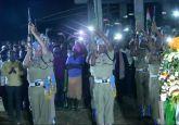 LIVE: Yogi Adityanath meets family of martyred CRPF constable Pankaj Kumar Tripathi