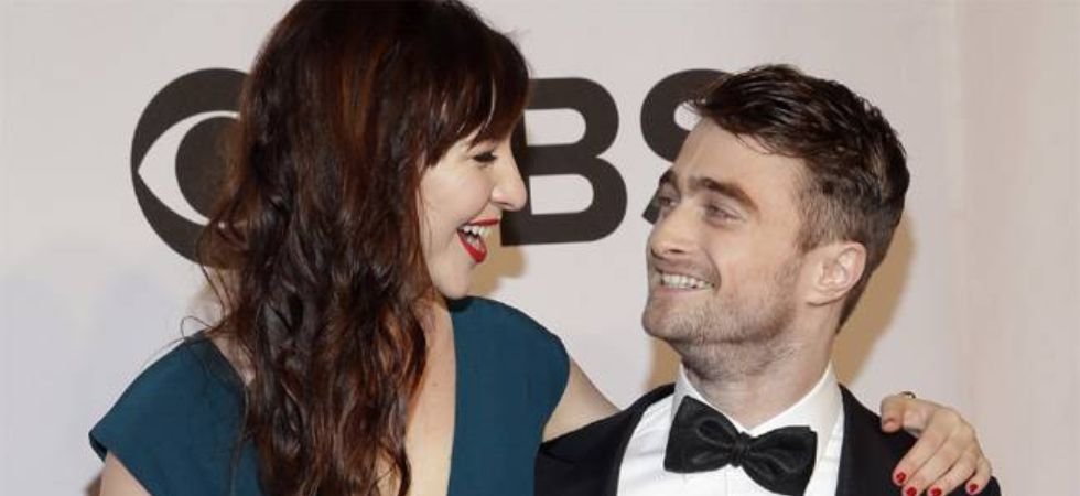 Daniel Radcliffe and girlfriend, Erin Darke.