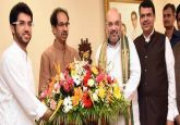 LIVE: Amit Shah reaches Mumbai to hold joint press conference with Uddhav Thackeray over seat sharing