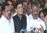 BJP, AIADMK announce alliance in Tamil Nadu for 2019 Lok Sabha Elections
