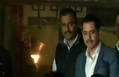 Down with diarrhoea, Robert Vadra complains of nausea, skips date with ED