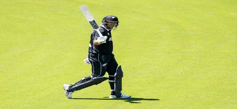 Ross Taylor became the leading run-getter for New Zealand in ODIs by going past Stephen Fleming. (Image credit: ICC Twitter)