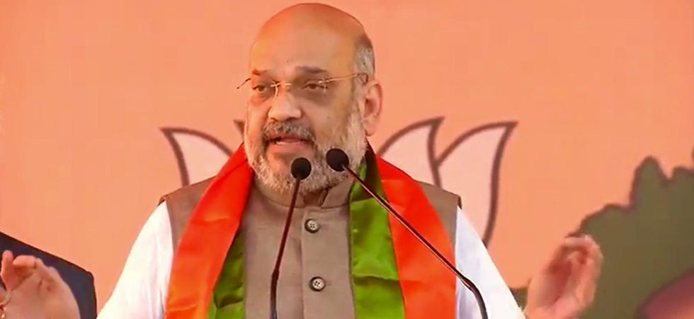 The Congress has not even left the issue of terrorism in its futile bid to remove PM Modi, said Amit Shah. (Image Credit: Twitter)