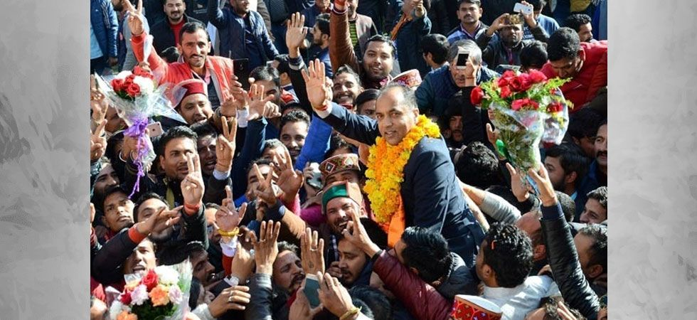 BJP's Jairam Thakur became the chief minister after its chief ministerial face Prem Kumar Dhumal lost the Assembly elections in Himachal Pradesh. (File photo: PTI)