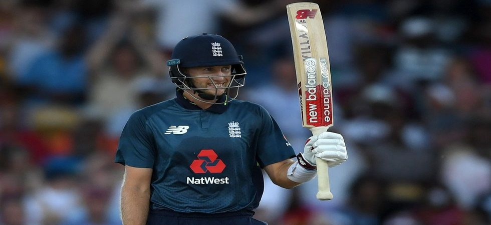 Joe Root scored his 14th century and became the fastest England player to reach 5000 ODI runs. (Image credit: Twitter)