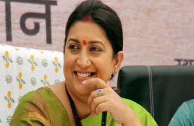 Smriti Irani calls Navjot Singh Sidhu modern India's Jaichand