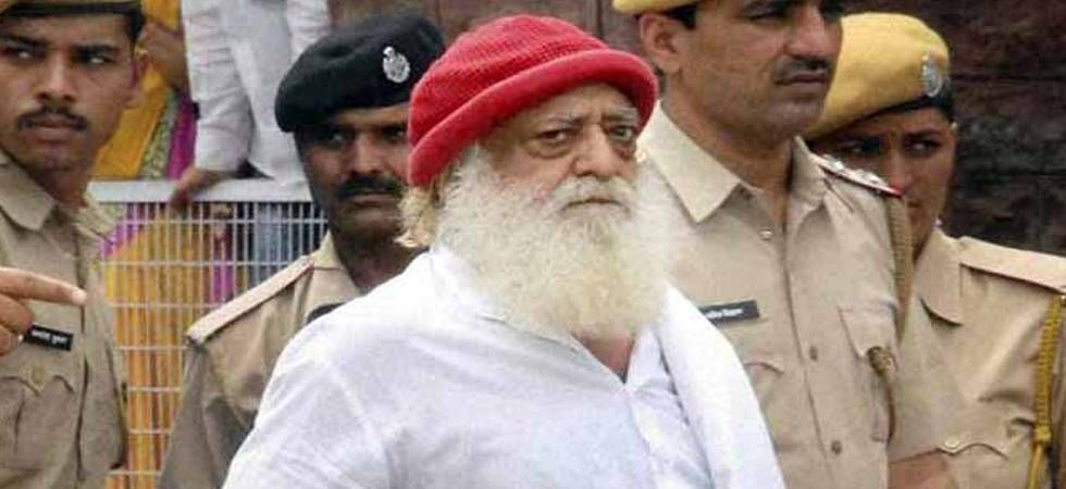 Asaram, in jail since August 31, 2013, was charged under relevant sections of the Protection of Children from Sexual Offences (POCSO) Act, and the Scheduled Castes and Tribes (Prevention of Atrocities) Act. (File photo)