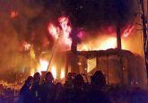Dhaka fire: 45 killed in blaze at chemical warehouses