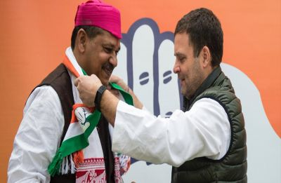 Kirti Azad sparks off controversy, says Congress workers used to loot polling booths