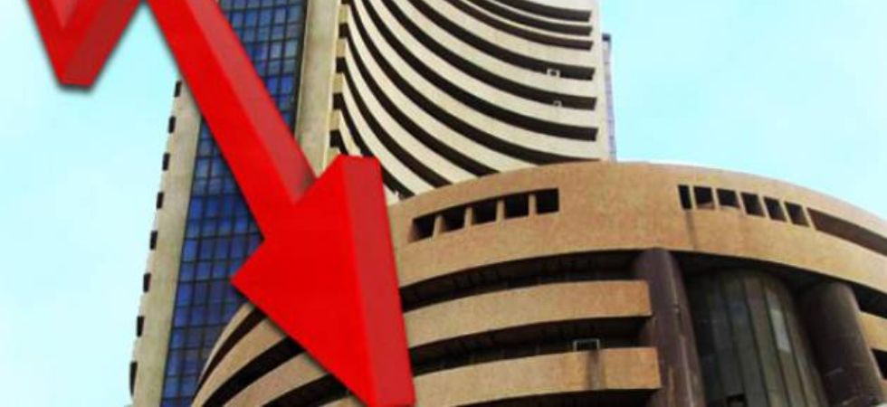Top losers in the Sensex pack in morning trade include Kotak Bank, Tata Steel, L&T, RIL, Axis Bank, NTPC, Tata Motors, HDFC Bank, HDFC and ITC, falling up to 3.39%. (File photo)