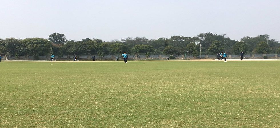 The Palam cricket ground was awash with the tunes of Gully Boy in the Syed Mushtaq Ali clash. (Image credit: Sid Vishy Twitter)