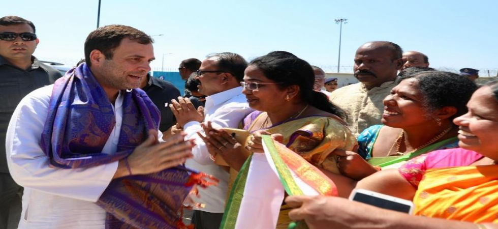 Rahul Gandhi treks 10 Kilometres to visit Tirumala hills in Andhra Pradesh (Photo Source: @INCIndia)