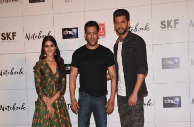 Salman Khan launches trailer of Zaheer-Pranutan starrer 'Notebook'
