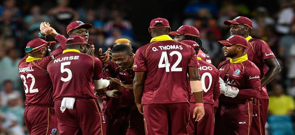 West Indies won the second ODI in Barbados by 26 runs to level the series. (Image credit: ICC Twitter)