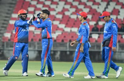 Afghanistan seal series against Ireland after amassing highest score in T20I