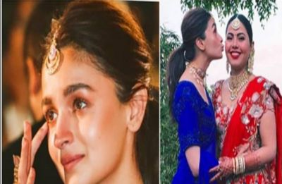 Alia gets all teary-eyed while bidding her best friend adieu