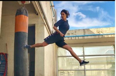 Disha Patani's high octane stunt can give Tiger Shroff a run for his money