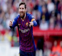 Lionel Messi blasts 50th hat-trick, Barcelona thrash Sevilla in La Liga