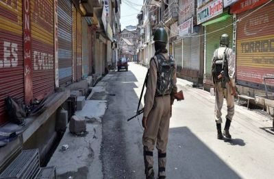 Article 35A hearing: Heavy deployment of forces in Kashmir, administration seeks adjournment