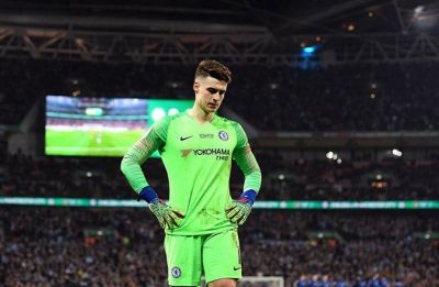 WATCH - Maurizio Sarri, Kepa Arrizabalaga have big 'misunderstanding' in League Cup final