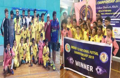 Telangana boys win Futsal Under 13 National Championship 2019