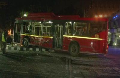 1 dead, 15 injured as truck rams DTC bus near Delhi's ITO flyover