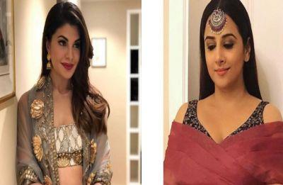 Vidya Balan and Jacqueline Fernandez are ultimate stunners at Akash Ambani and Shloka Mehta's sangeet ceremony