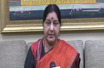 Happy that all parties in one voice praised the security forces, says Sushma Swaraj after all-party meet