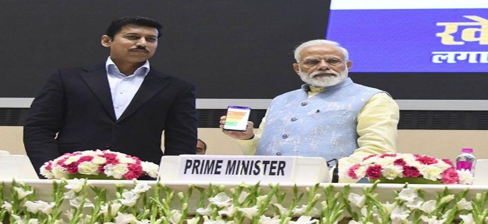 PM Narendra Modi launches Khelo India App - News Nation