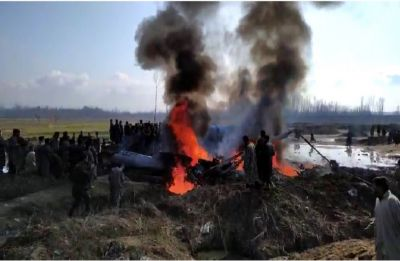 Indian Air Force's Mi-17 transport chopper crashes in Jammu and Kashmir's Budgam