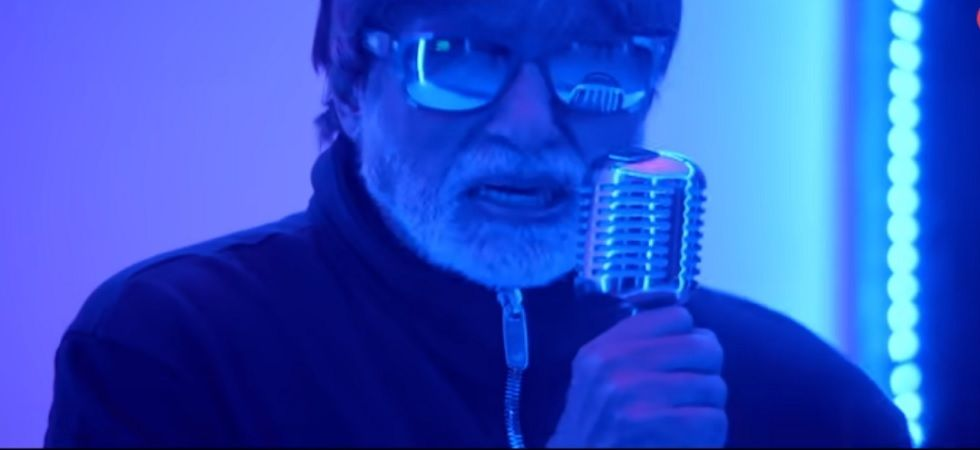 Amitabh Bachchan lends his voice to the second track of 'Badla' (Twitter)